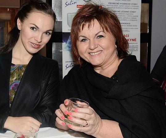 S kolegyní Hanou Křížkovou