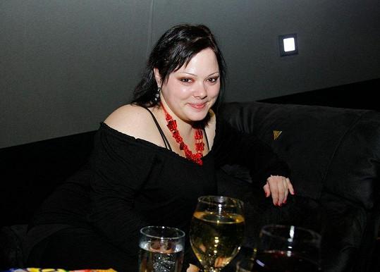 Leona Černá trpěla nadváhou.