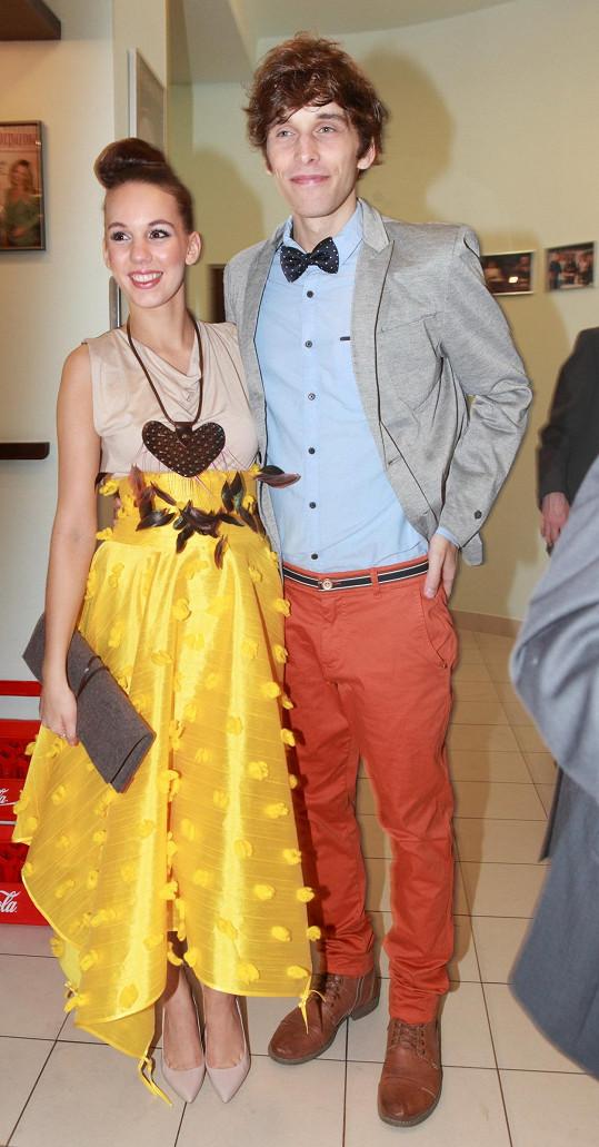 Michaela Doubravová s dlouholetým přítelem Romanem Tomešem