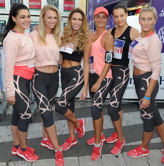 Adidas Běh pro ženy přilákal tento rok kromě stovek nadšených sportovkyň i nejednu celebritu.