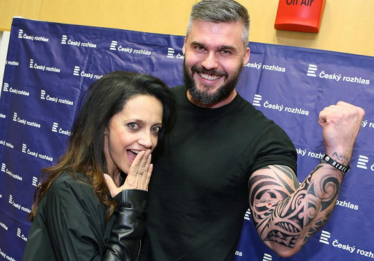 Radkovo tetování Lucka schválila.