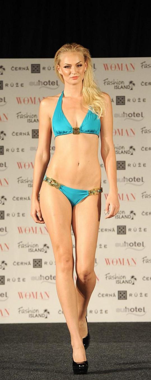 Tereza Fajksová na módní show