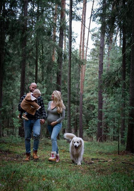 Radek Smoleňák a jeho žena Hanka budou mít druhé dítě.