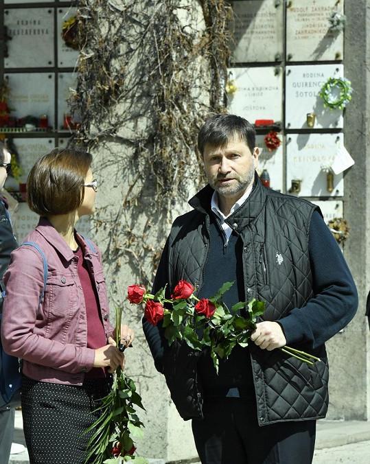 Jan Hrušínský s dcerou Kristýnou
