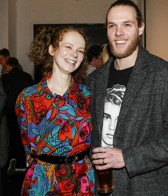 Anna Kameníková s manželem Stounym