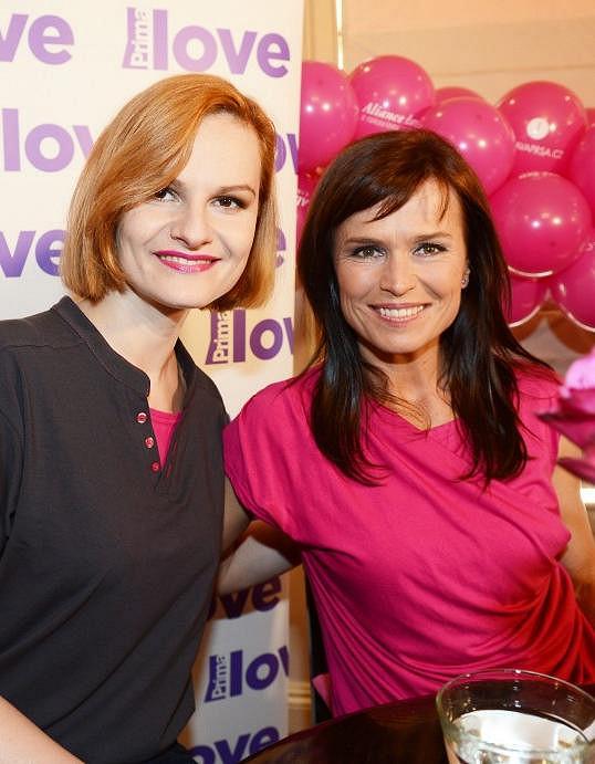 Iva Pazderková a Olga Šípková jdou do čela růžového průvodu již podruhé. Startuje se 14. června.