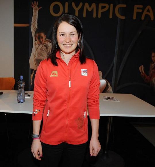 Veronika Vítková je stříbrná medailistka ze Soči.