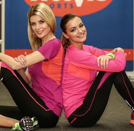 Iveta Vítová a Jitka Válková na sportovní módní přehlídce