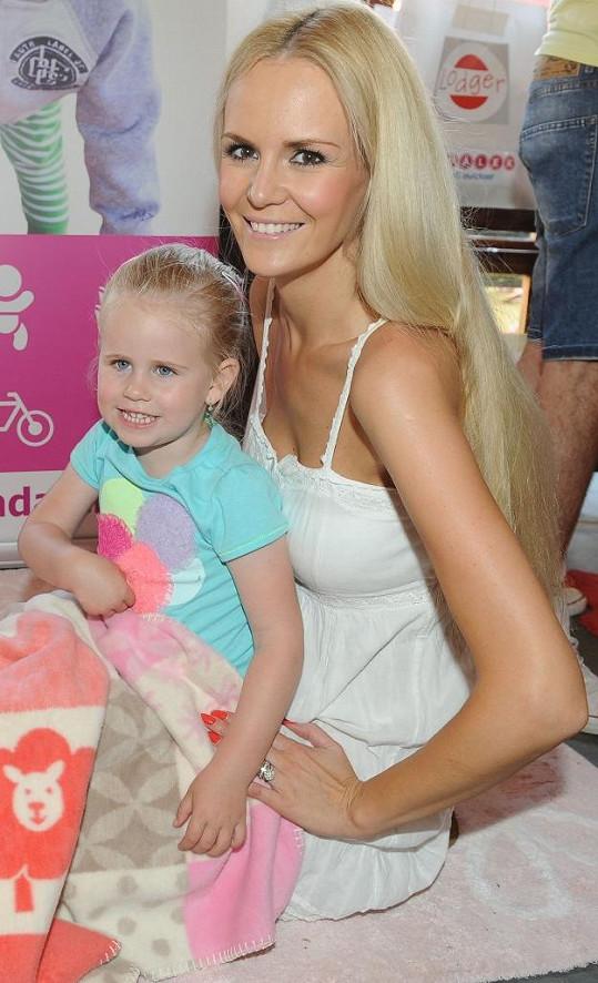 Lucie s dcerou Deniskou