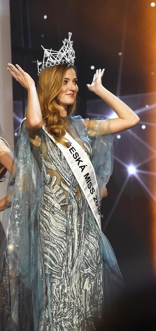 Česká Miss 2016 Andrea Bezděková