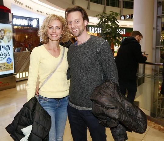 Kristina s partnerem