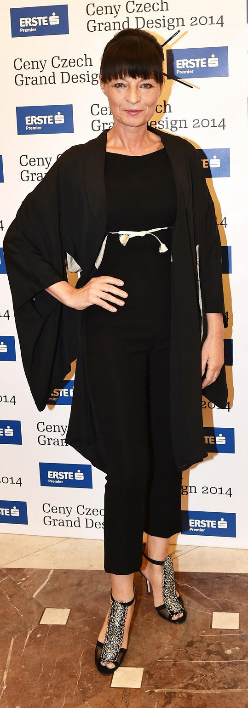 Celý večer byl inspirovaný Japonskem, což návrhářka Liběna Rochová ctila.
