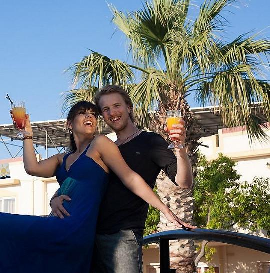 S manželem Jakubem Dřímalem