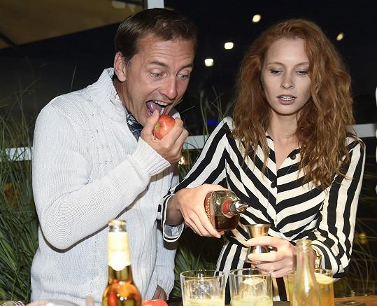 S Petrem si ze cideru umíchala i drink.