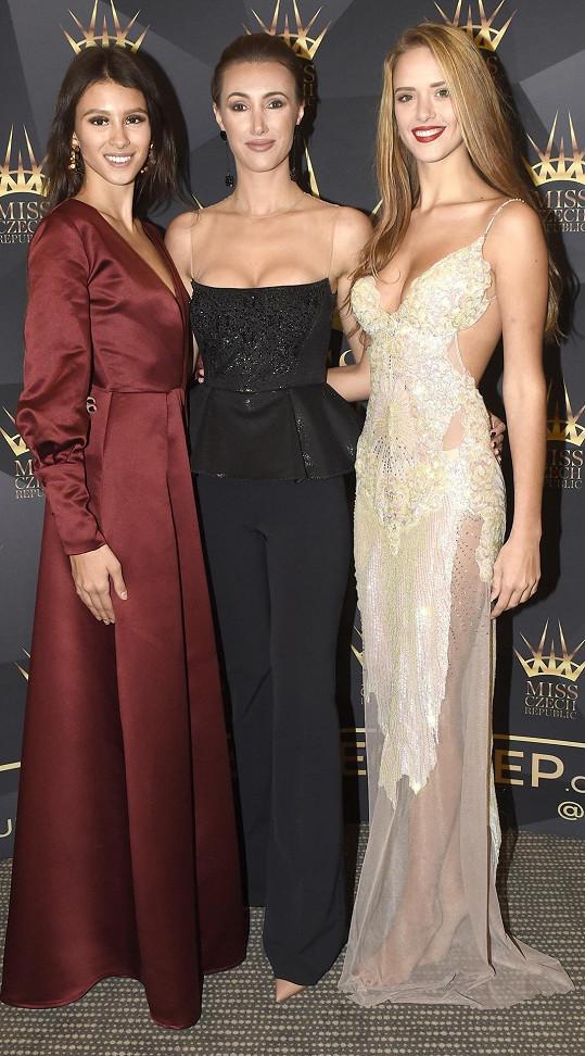 Kristýnu a Danielu vyslala na světové soutěže ředitelka Miss Czech Republic Taťána Makarenko.