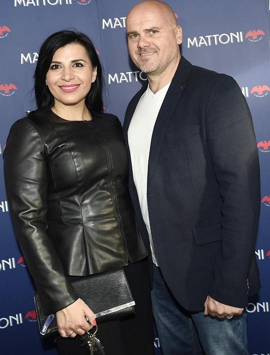 Andrea Kalivodová s manželem Radkem Töglem