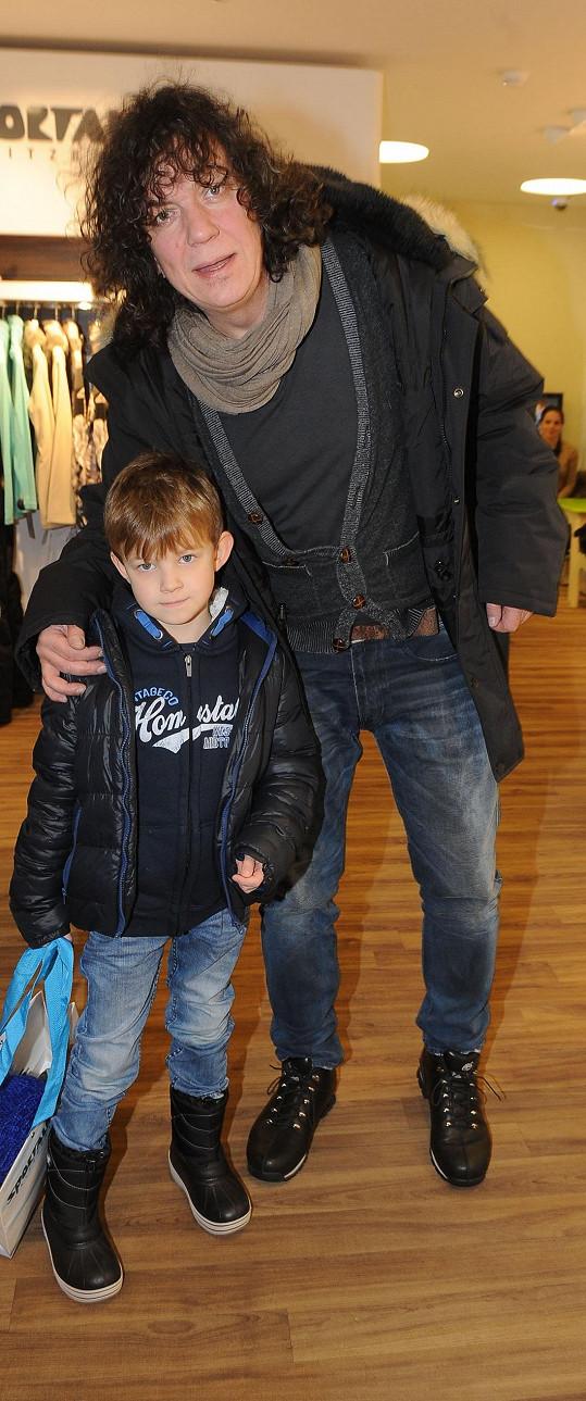 Richard se synem