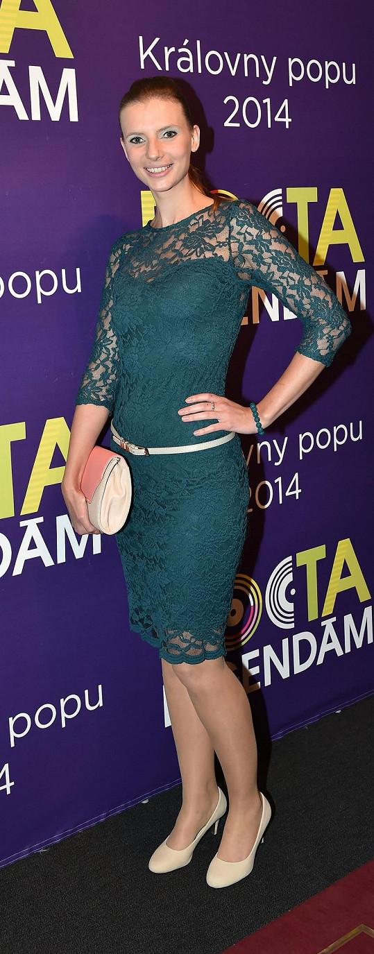 Třetí kráskou, která producenta doprovázela, byla Monika Sommerová.