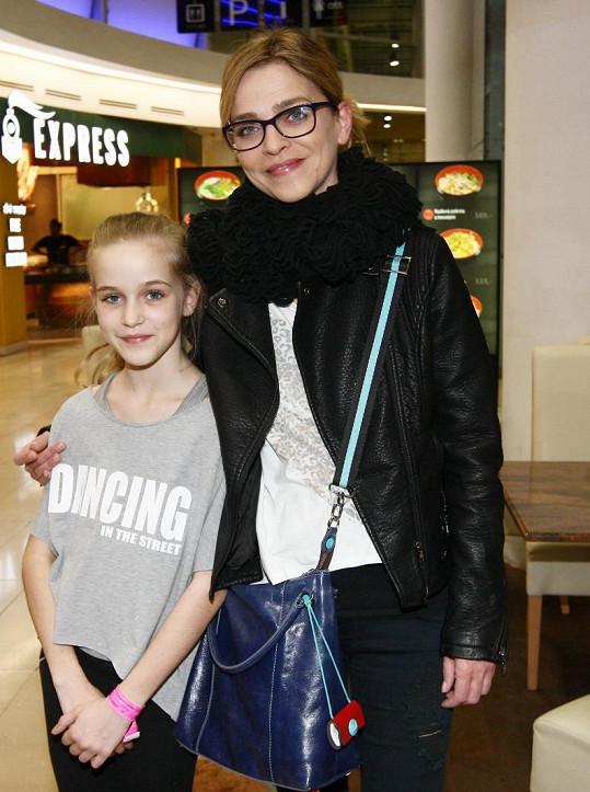 I Lucie Zedníčková vzala na Supermana a Batmana dceru Amelii.