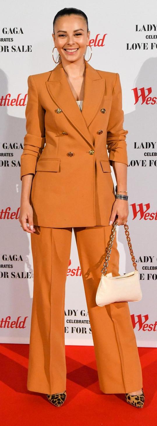 Monika vyrazila na premiérové představení jazzového alba Lady Gaga spojeného s koncertem.
