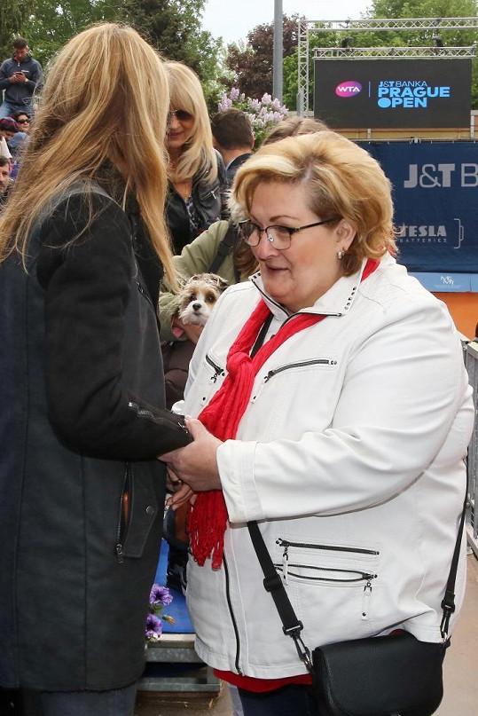 Maminka Tomáše Plekance s Lucií Šafářovou