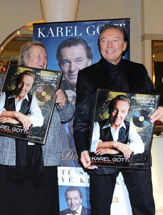 Jaroslava Herzerů a Karel Gott