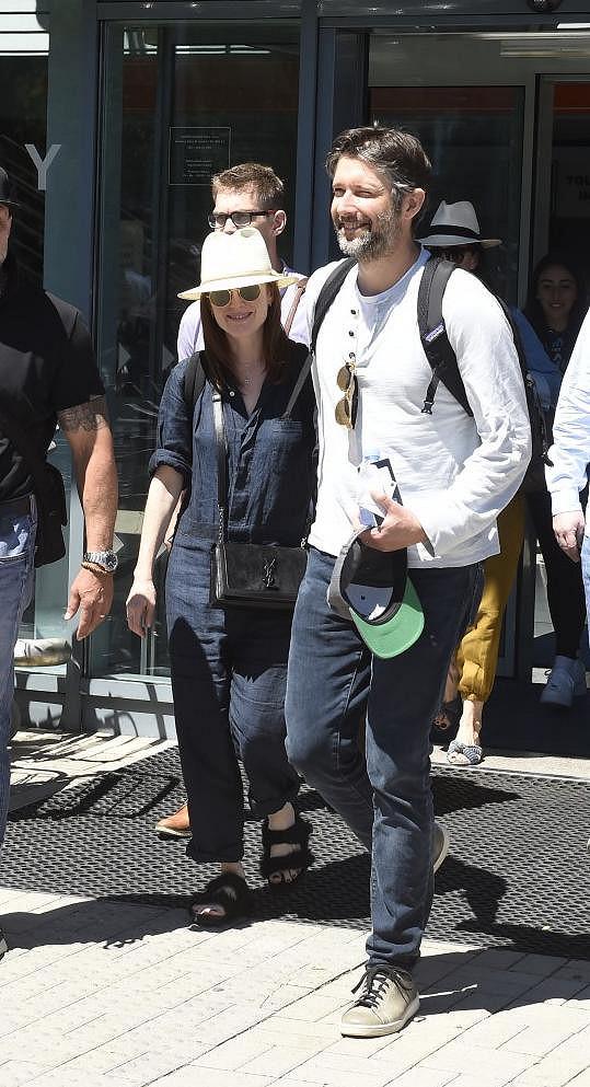 Julianne s manželem Bartem Freundlichem.