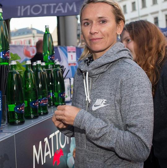 Eva Šebrlová je už tradiční účastnicí série RunCzech.