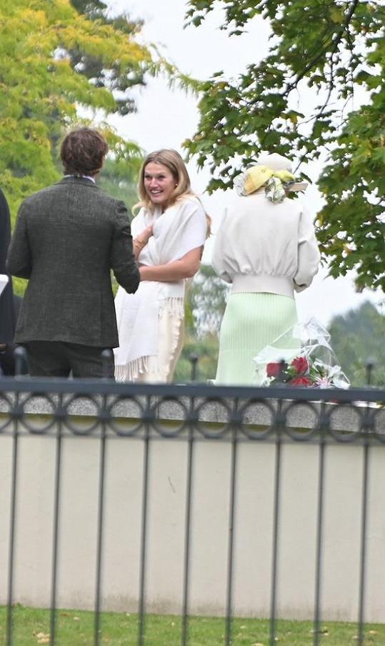 Svatba se vzhledem k pandemii konala v komorním duchu.