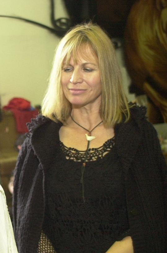 Jitka Molavcová v roce 2001