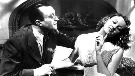 Oldřich Nový a Nataša Gollová v nesmrtelném filmu Eva tropí hlouposti (1939).