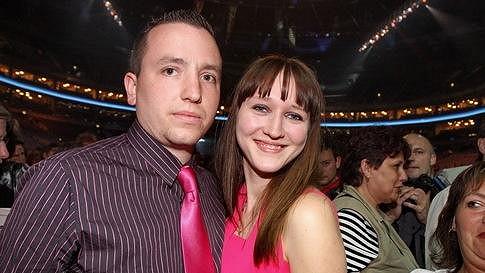 Dcera Karla Gotta Lucie s manželem Janem Kovaříkem