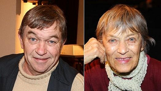 Roman Skamene se nápadně podobá o třicet let starší Ljubě Skořepové.