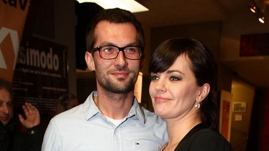 Marta Jandová s novým přítelem Miroslavem Vernerem.