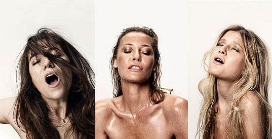 Charlotte Gainsbourg, Connie Nielsen a Sophie Kennedy Clark ve filmu Nymfomanka