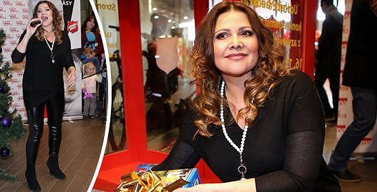 Ilona Csáková zhubla dvacet kilo a je to znát.