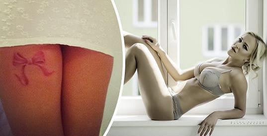 Slováková prozradila tajemství svého sexy tetování.