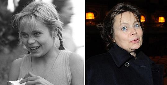 Takhle se sestra slavné Popelky proměnila za čtyřicet let.