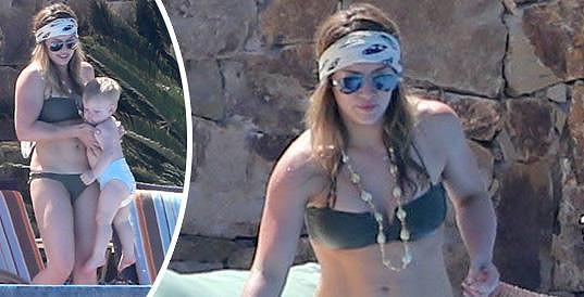Hilary Duff v Mexiku.