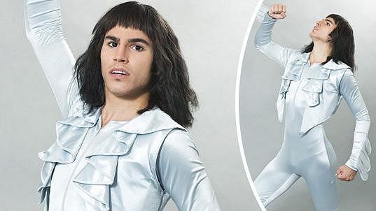 David Gránský jako Freddie Mercury
