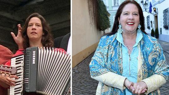 Kathy Kelly před sedmnácti lety a dnes