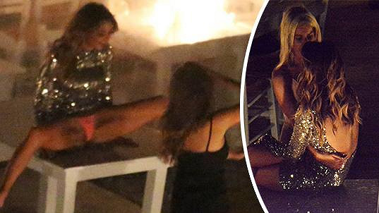 Nicole Scherzinger trochu slavila...