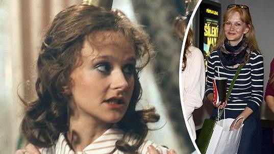 Simona Vrbická v roce 1986 a dnes