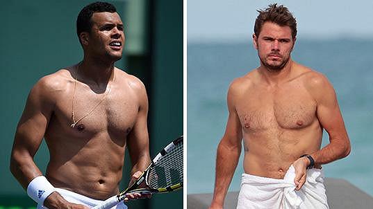 Na tyhle tenisty je radost pohledět...