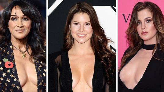 Tyto dámy se nebojí ukázat své přednosti.