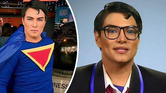 Herbert Chavez alias Superman a Clark Kent