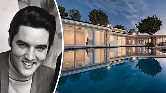 Za nemovitost po Elvisovi Presleym si zájemce bude muset připlatit.