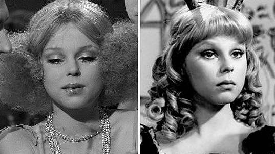Lenka Kořínková patřila v 70. letech k nejobsazovanějším herečkám.