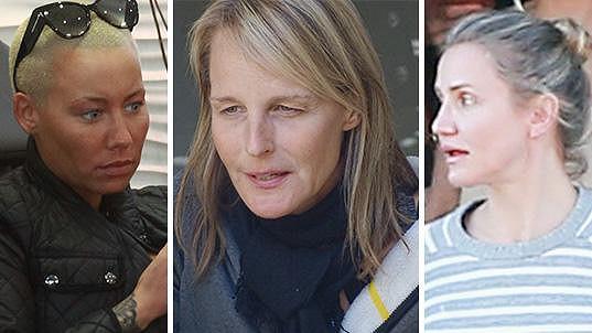 Celebrity bez make-upu byste na ulici přešli zřejmě bez povšimnutí.