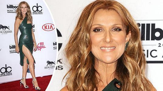 Céline Dion se na udílení hudebních cen neztratila.
